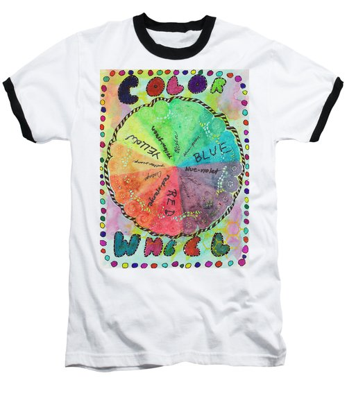 Color Wheel Baseball T-Shirt