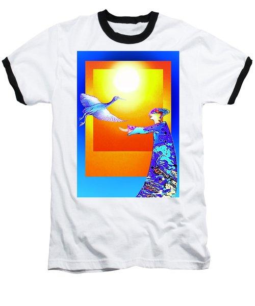 Colorful Friends Baseball T-Shirt