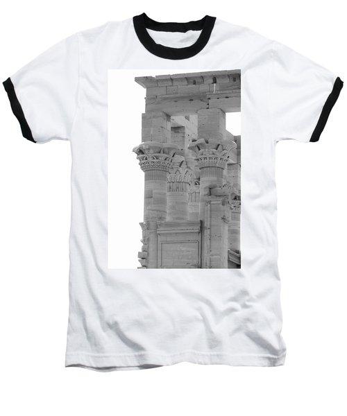Columns Baseball T-Shirt by Silvia Bruno