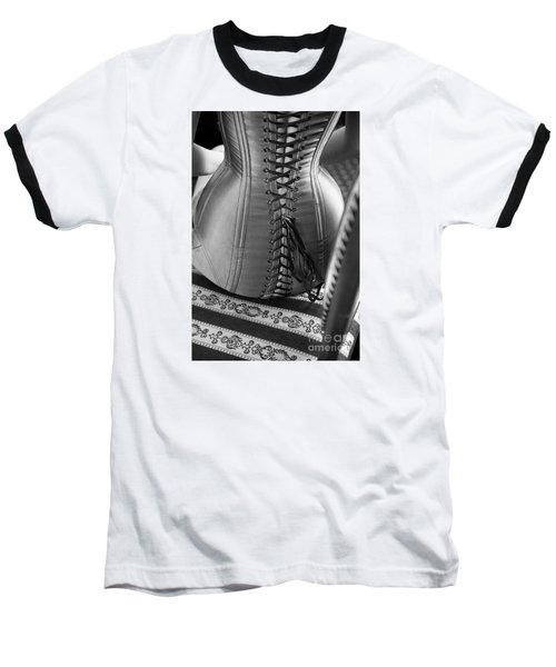Baseball T-Shirt featuring the photograph Corset #2278 by Andrey  Godyaykin