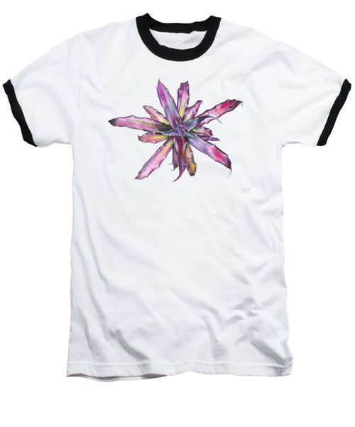 Cryptanthus Tropical Heat Wave Baseball T-Shirt