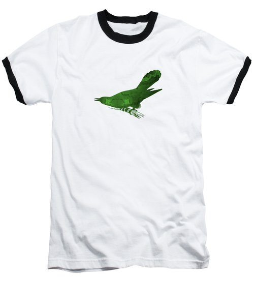 Cuckoo Baseball T-Shirt by Mordax Furittus