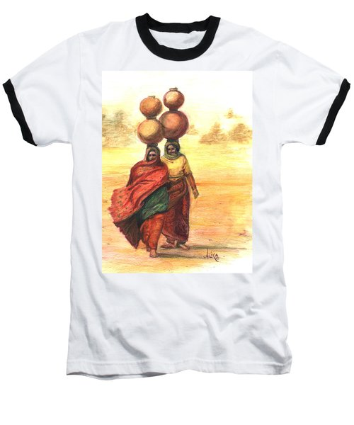Daily Desert Dance  Baseball T-Shirt