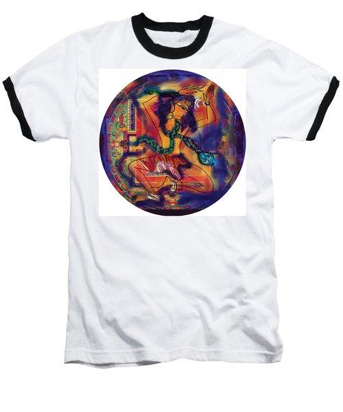 Dancing Shiva Baseball T-Shirt