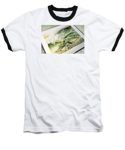 Dawn Patrol Baseball T-Shirt by William Love