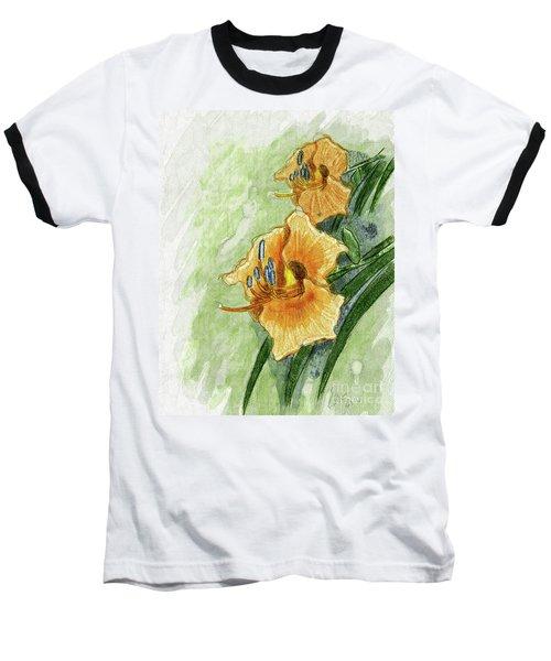 Daylily #2 Baseball T-Shirt