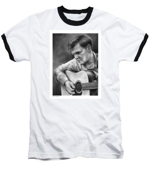 Doc Watson Baseball T-Shirt by Greg Joens