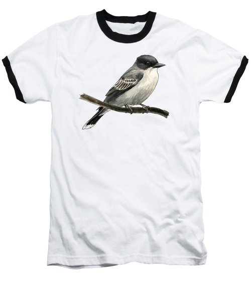 Eastern Kingbird Baseball T-Shirt