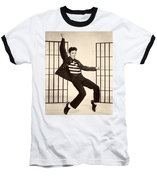 Elvis Presley In Jailhouse Rock 1957 Baseball T-Shirt