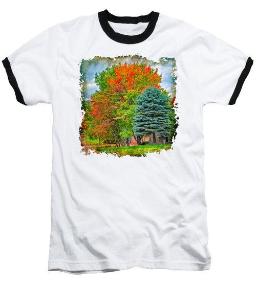 Fall Colors Baseball T-Shirt