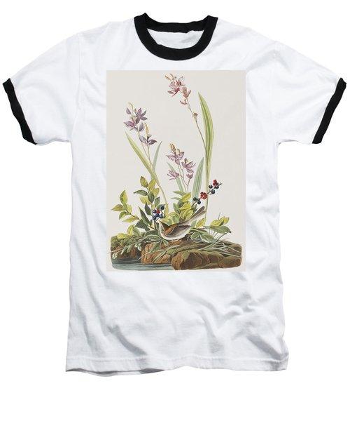 Field Sparrow Baseball T-Shirt by John James Audubon