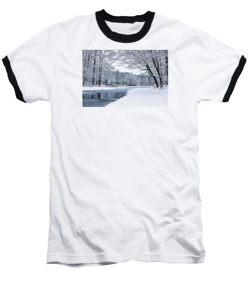 First Snow Baseball T-Shirt