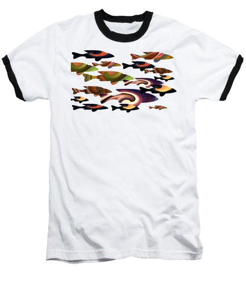 Fish Of A Different Color Baseball T-Shirt