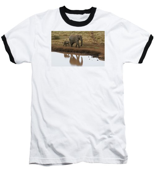 Baseball T-Shirt featuring the photograph Follow Me by Gary Hall