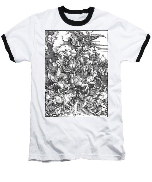 Four Horsemen Of The Apocalypse Baseball T-Shirt
