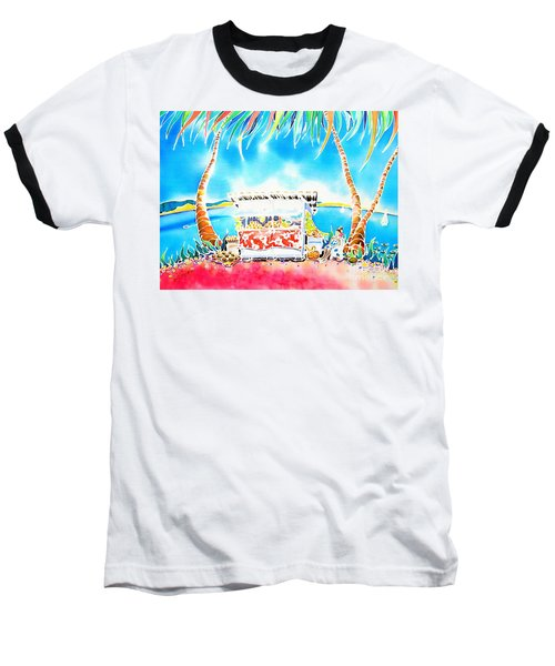Baseball T-Shirt featuring the painting Fruit Stand by Hisayo Ohta