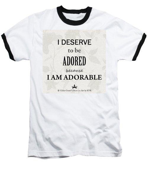 Gilda-gram Decor IIi Baseball T-Shirt