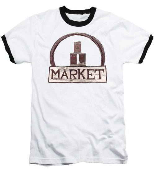 Going To The Market Baseball T-Shirt