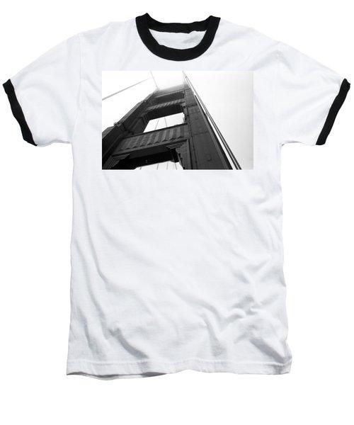Golden Gate Tower 2 Baseball T-Shirt