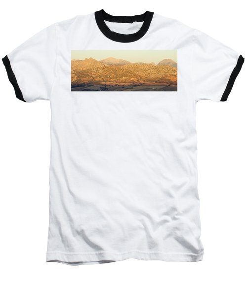 Golden Light In Andalusia Baseball T-Shirt