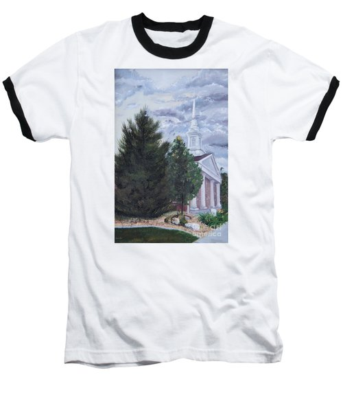 Hale Street Chapel Baseball T-Shirt by Jane Autry