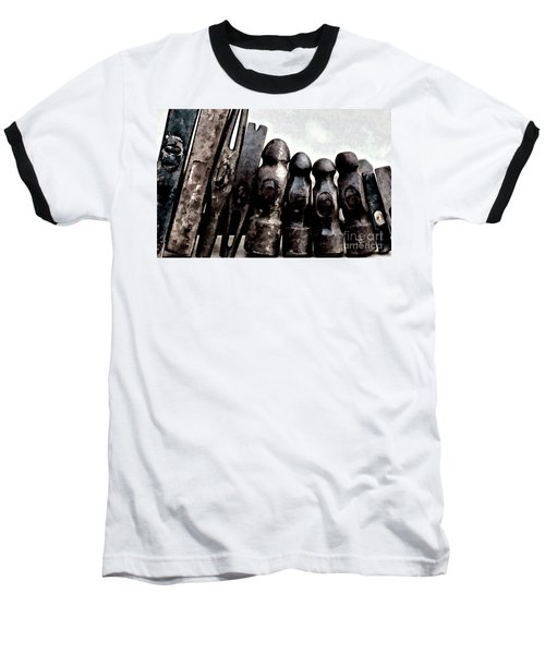 Baseball T-Shirt featuring the photograph Hammer Heads  by Wilma Birdwell