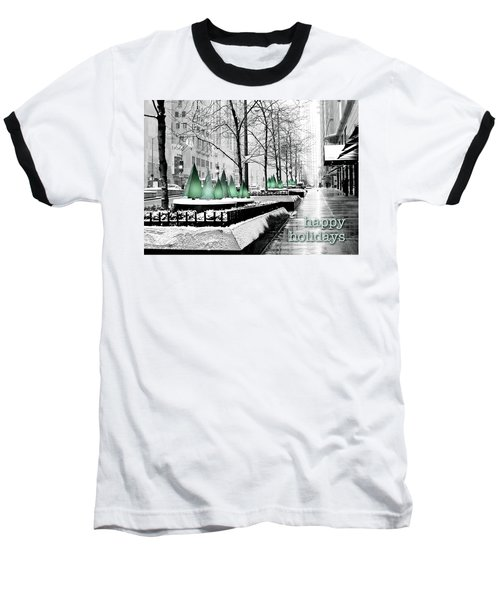 Happy Holidays From Chicago Baseball T-Shirt