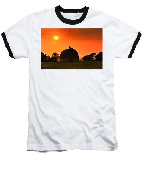 Harvest Sunset  Baseball T-Shirt