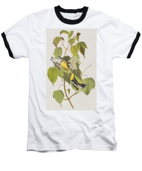 Hemlock Warbler Baseball T-Shirt by John James Audubon