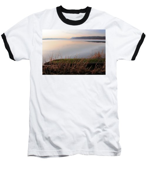 Hudson River Vista Baseball T-Shirt