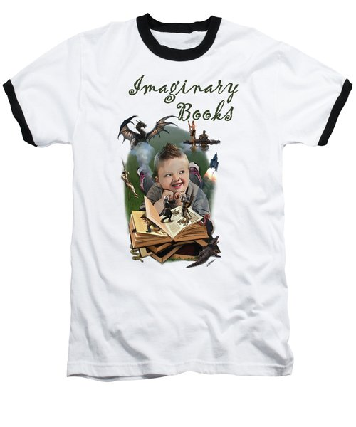 Imaginary Books Baseball T-Shirt