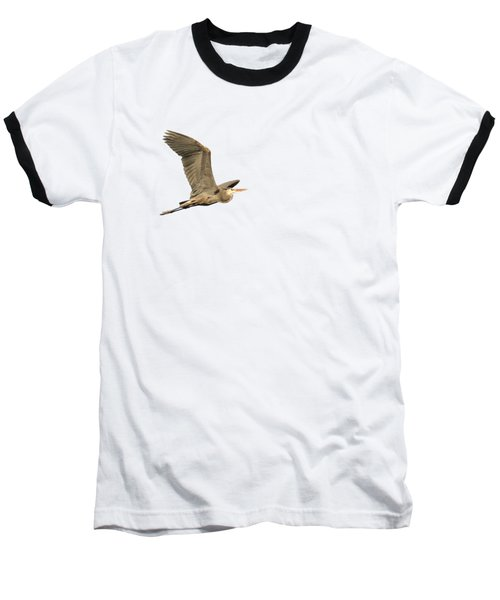 Isolated Great Blue Heron 2015-5 Baseball T-Shirt