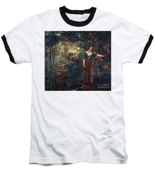 Joan Of Arc C1412-1431 Baseball T-Shirt