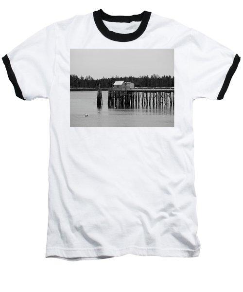 Jonesport, Maine Baseball T-Shirt by Trace Kittrell