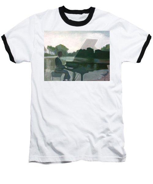 Justin Levitt Steinway Piano Spreckles Lake Baseball T-Shirt