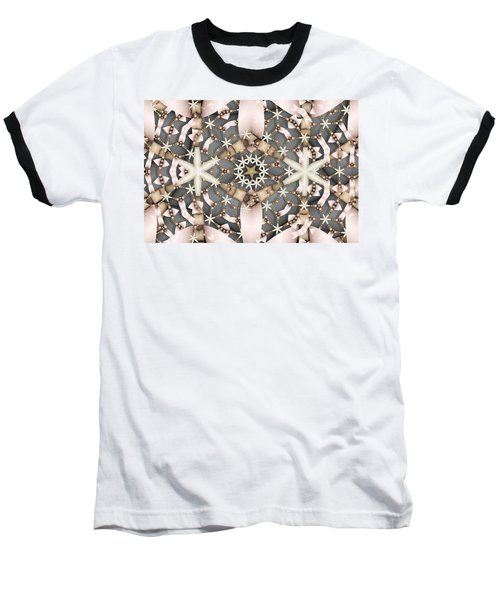 Baseball T-Shirt featuring the digital art Kaleidoscope 97 by Ron Bissett