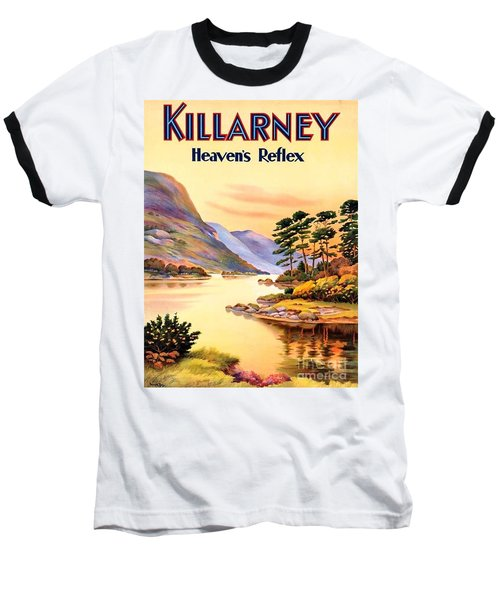 Baseball T-Shirt featuring the painting Killarney by Pg Reproductions