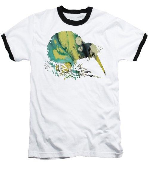 Kiwi Bird Baseball T-Shirt