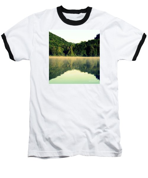 Lake Baseball T-Shirt by France Laliberte