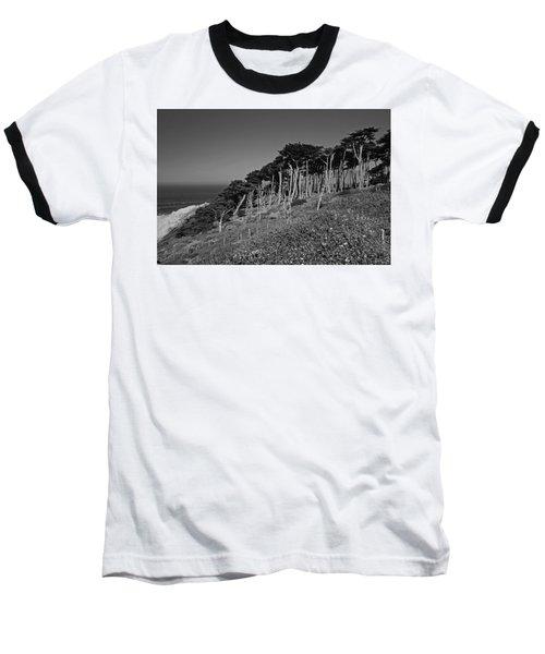 Lands End In San Francisco Baseball T-Shirt