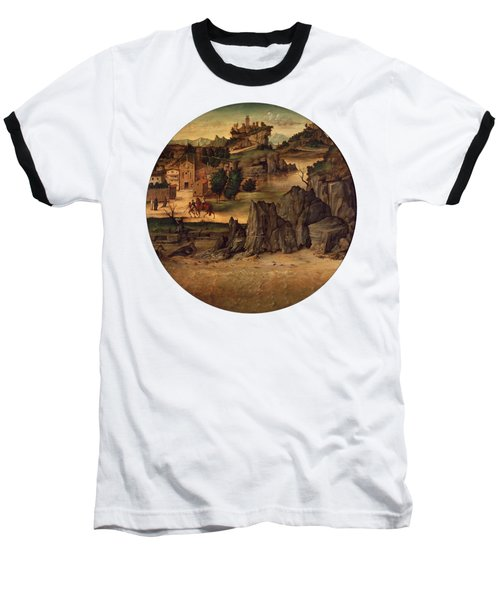 Landscape With Castles Baseball T-Shirt