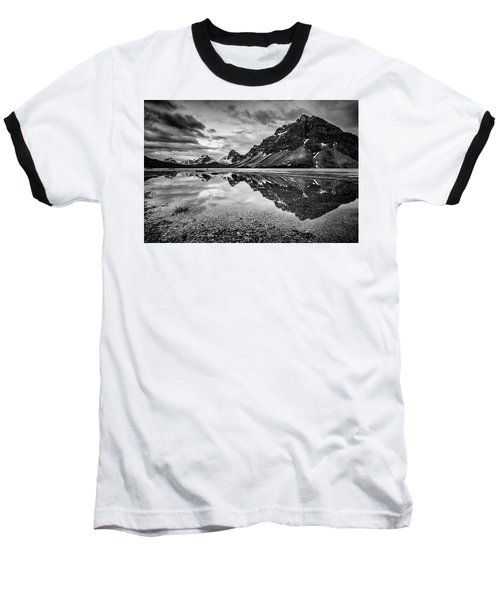 Baseball T-Shirt featuring the photograph Light On The Peak by Jon Glaser