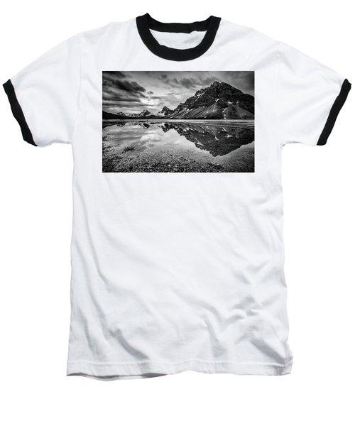 Light On The Peak Baseball T-Shirt by Jon Glaser