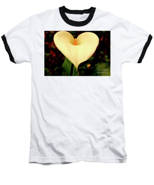 Lily Of The Valley Baseball T-Shirt by Cassandra Buckley