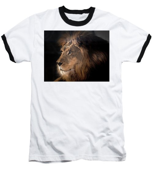 Lion King Of The Jungle Baseball T-Shirt