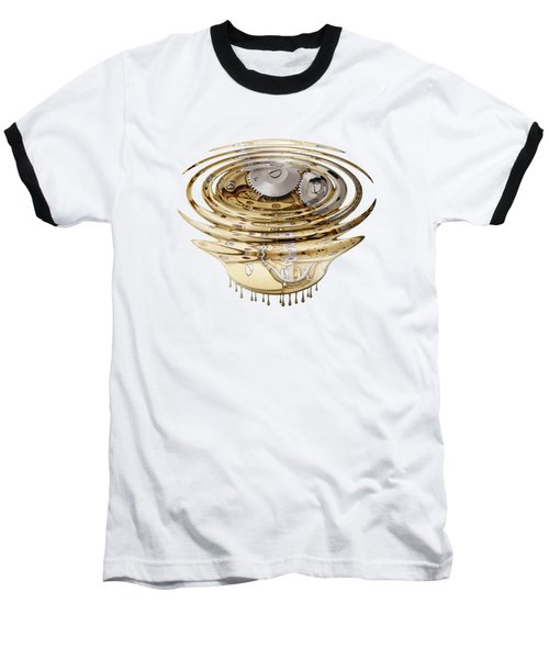 Liquefied Clockwork Baseball T-Shirt