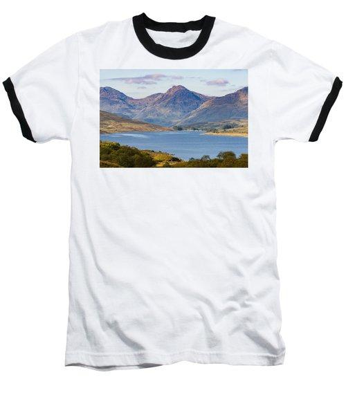 Loch Arklet And The Arrochar Alps Baseball T-Shirt