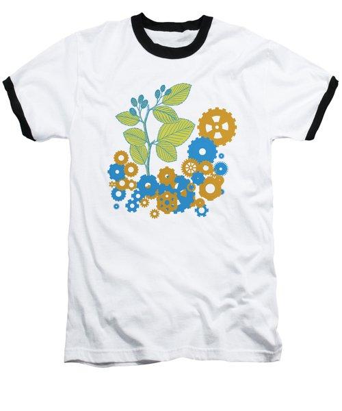 Mechanical Nature Baseball T-Shirt