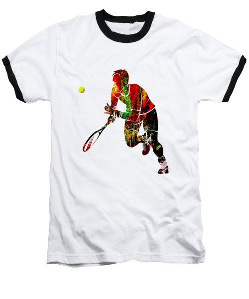 Mens Tennis Collection Baseball T-Shirt