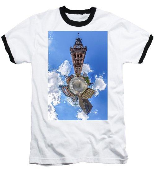 Milwaukee City Hall Baseball T-Shirt